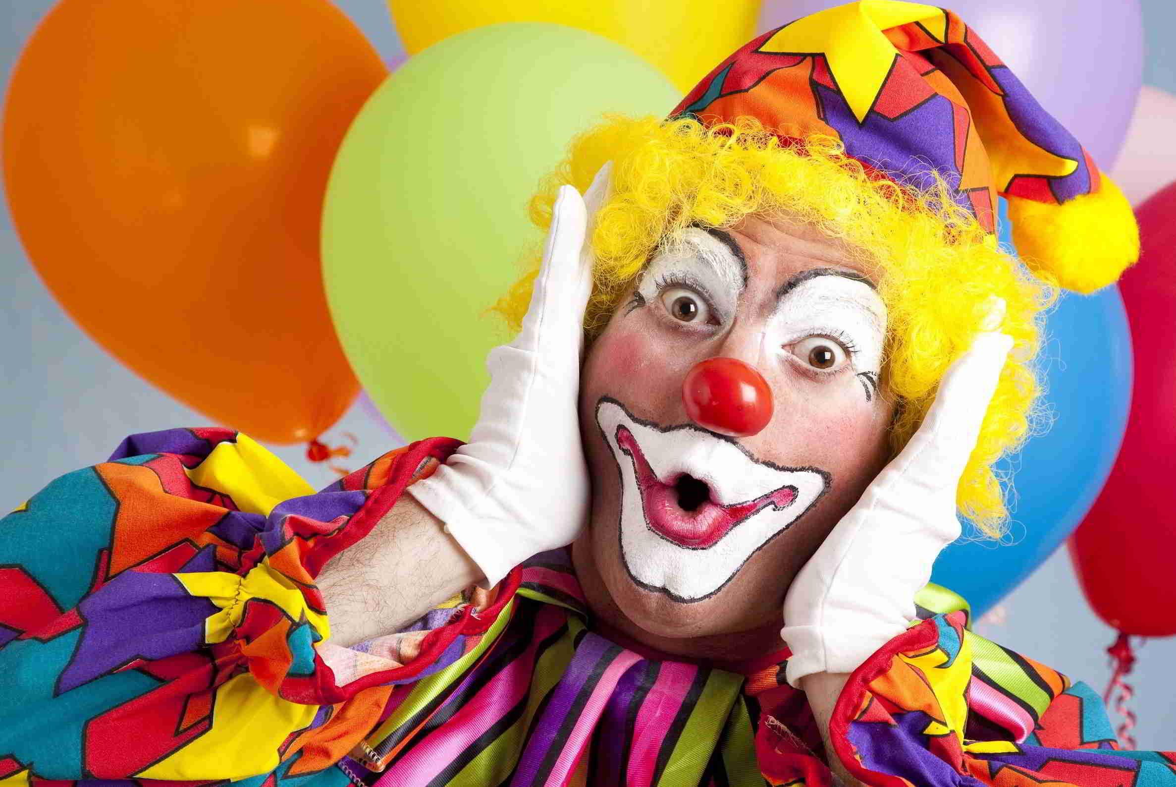 Clown-Boeken-Inhuren