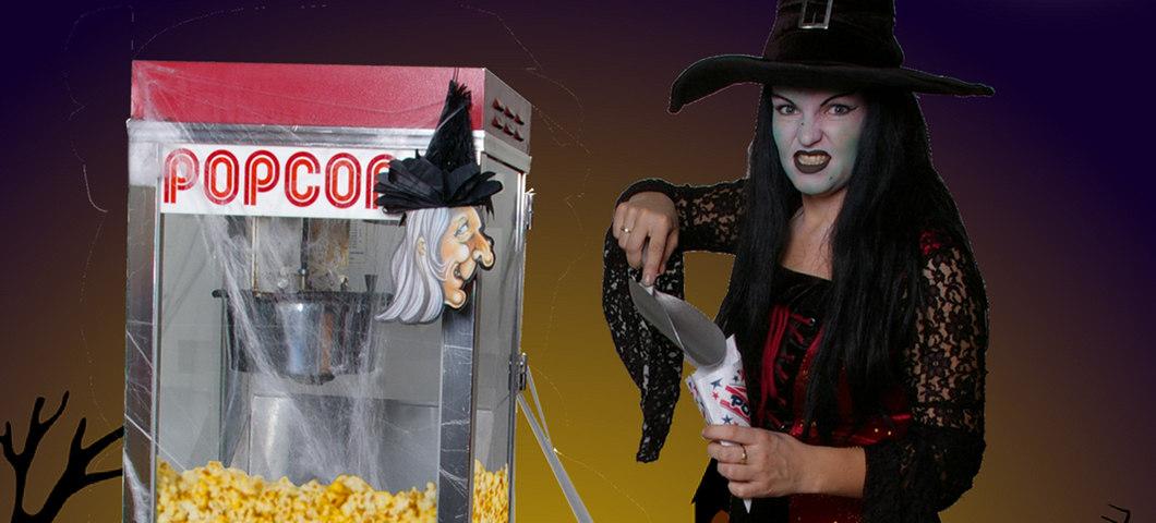 Halloween-Popcornstand