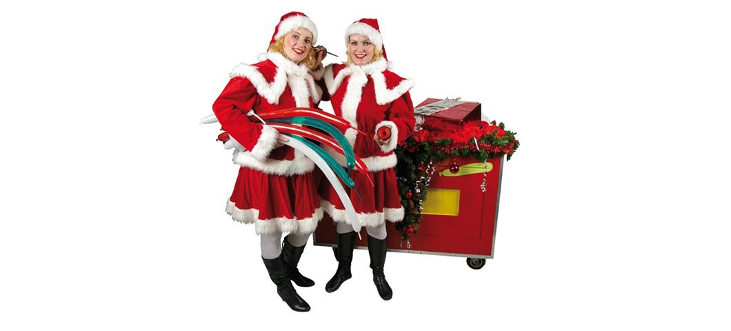 Kerst-Ballonnen-Mobiel