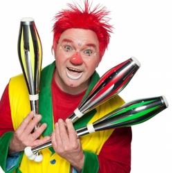 clown flapipo kindershow boeken