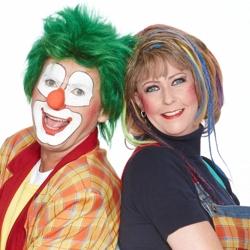 clown jopie en tante angelique kindershow boeken