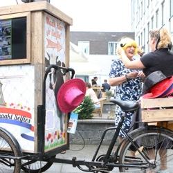 hollandse selfie bakfiets boeken