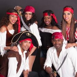 caribische piraten show boeken