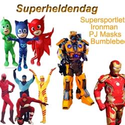 superhelden dag boeken